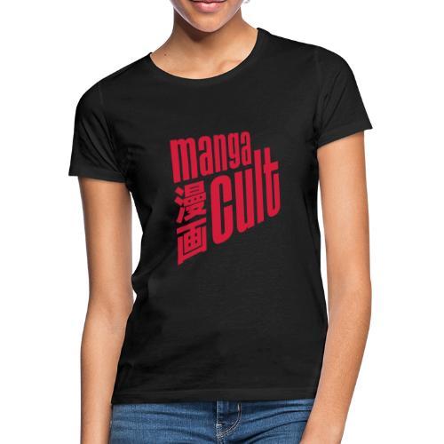 Manga Cult Logo Rot - Frauen T-Shirt