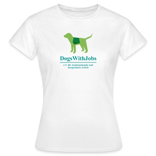 dwj png - Frauen T-Shirt