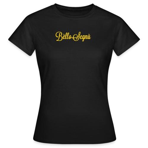 BelloSegnu Logo png - Maglietta da donna