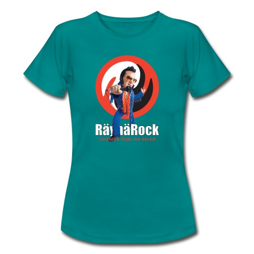 Räyhärock musta - Naisten t-paita