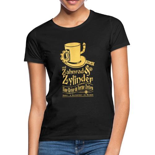 ZuZ 2019 + Brust- & Rückenmotiv - Frauen T-Shirt