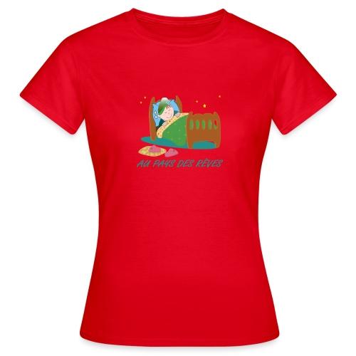 Personnage endormi - T-shirt Femme