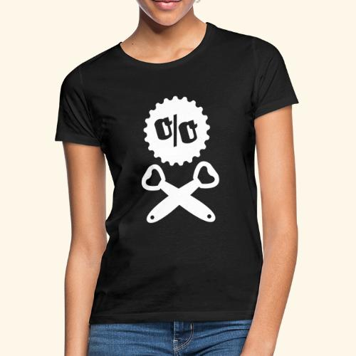 Bier T Shirt Design Piratenflagge - Frauen T-Shirt