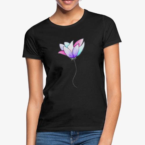 Fleur - T-shirt Femme
