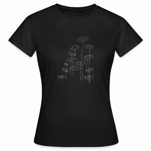 abstract bloemen 002 - Vrouwen T-shirt