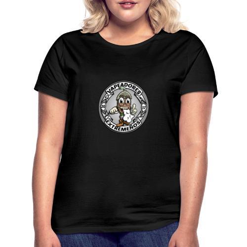 logo blanco - Camiseta mujer