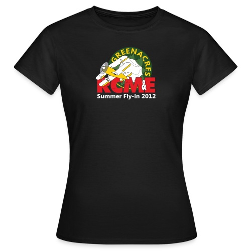 RCME Greenacres 2012 Fly In white txt - Women's T-Shirt