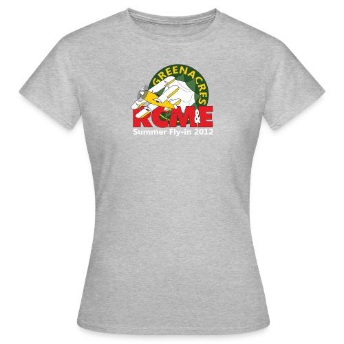 RCME Greenacres 2012 Fly In white txt - Women's T-Shirt