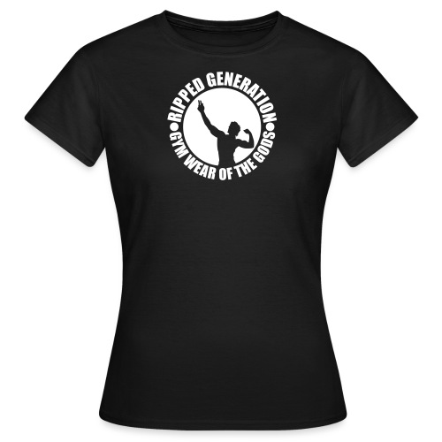 Ripped Generation Logo - Naisten t-paita