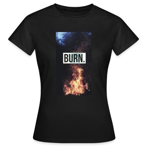 Burn - T-shirt Femme