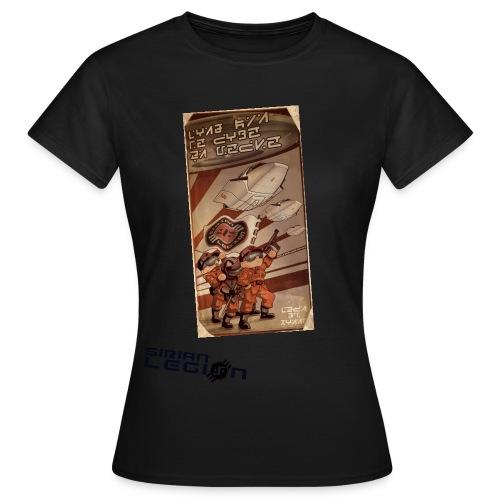 sirian legion logo face - T-shirt Femme