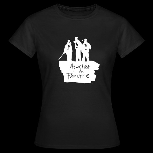 logo apache blanc - T-shirt Femme
