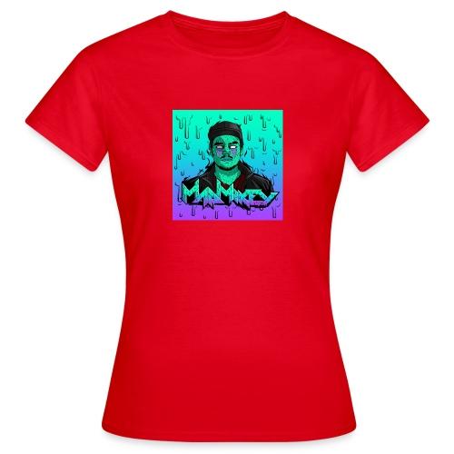 MadMikey Grime Art Sticky Green - Vrouwen T-shirt