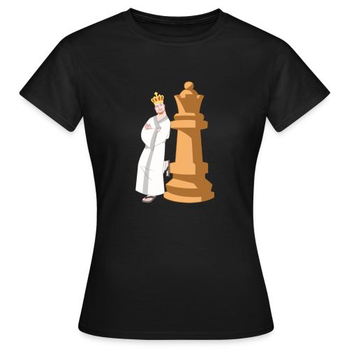 Samurai with Queen - Women's T-Shirt