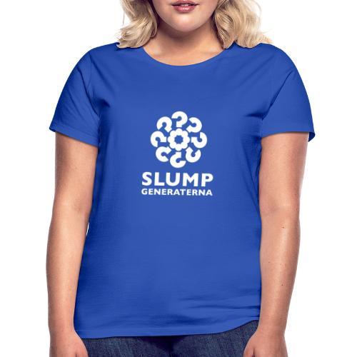 Slumpgeneraternas partisymbol (vit) - T-shirt dam