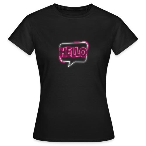 Hello Neon - Koszulka damska