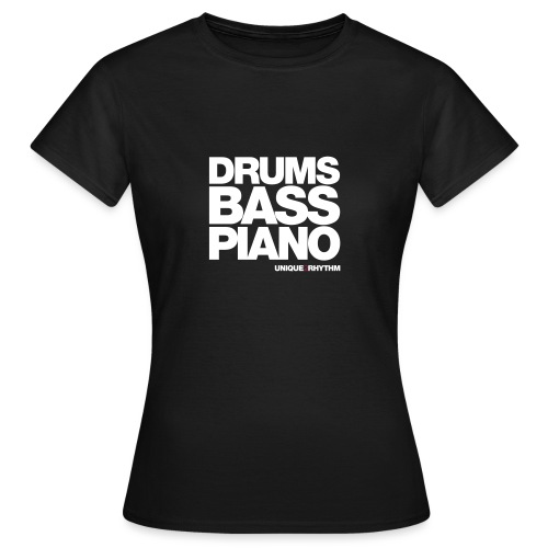 Drums Bass Piano - Women's T-Shirt