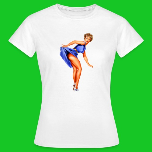pin up girl 2 - Vrouwen T-shirt