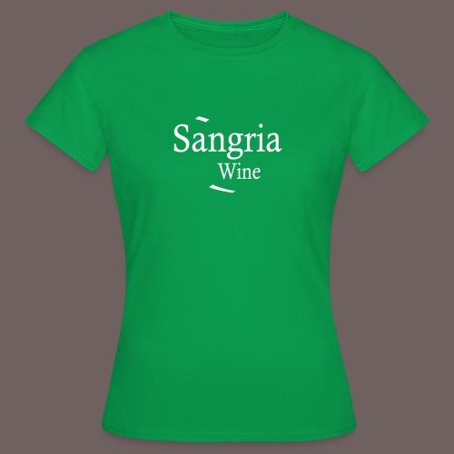 GBIGBO zjebeezjeboo - Fleur- Vin de Sangria [Flex] - T-shirt Femme