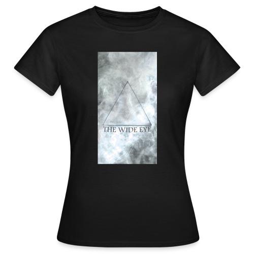 THE WIDE EYE Motiv A - T-shirt dam