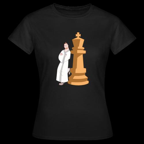 Samurai with King - Women's T-Shirt