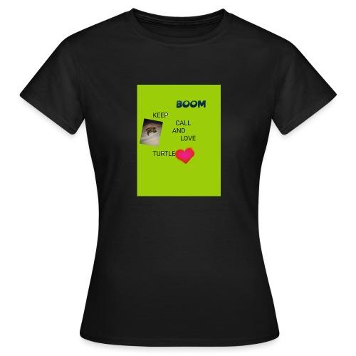 Keep call and love turtle - Naisten t-paita