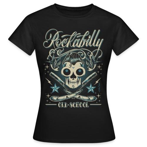 old schoolskull sprd - Camiseta mujer
