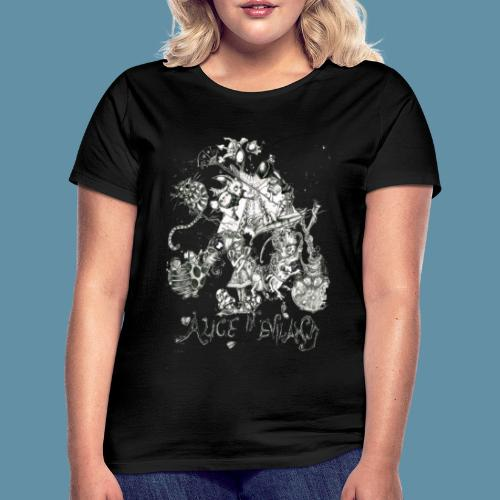 Alice in Eviland png - Maglietta da donna
