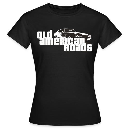 Old American roads - T-shirt Femme
