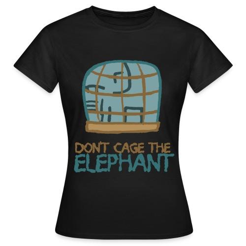 DontCageTheElephant02 png - Frauen T-Shirt