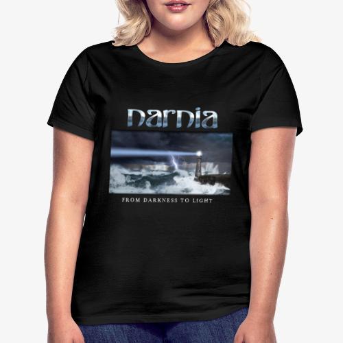 Narnia_FDTL_long_sv_bg - Women's T-Shirt