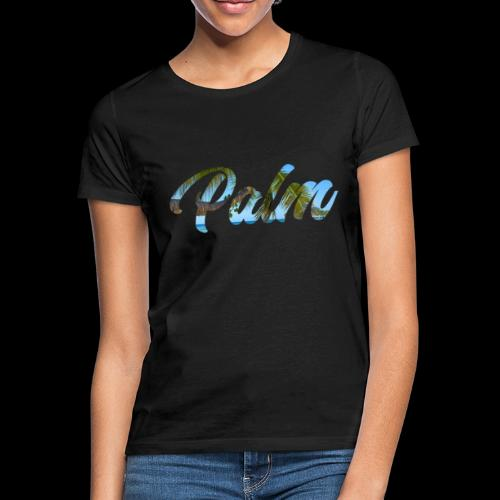Beach Palm - Dame-T-shirt
