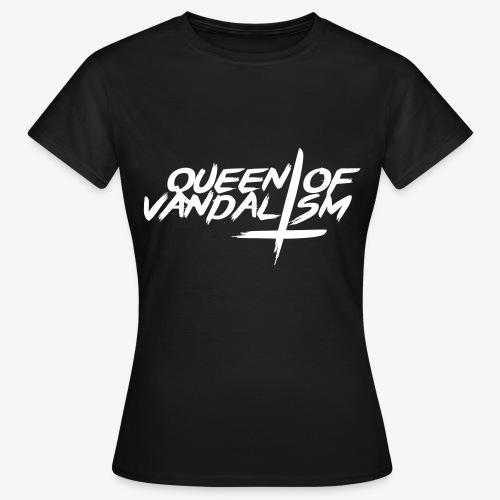 Queen of Vandalism Cross - Frauen T-Shirt