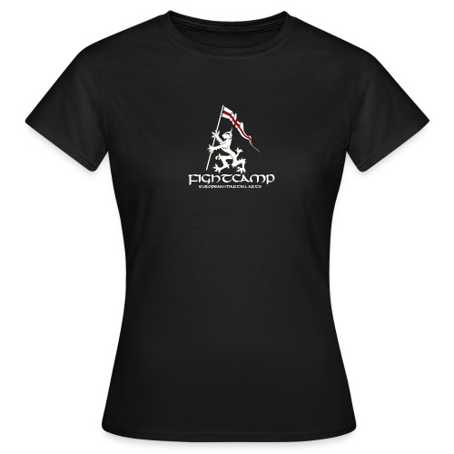 FightCamp Logo T Shirt transparent with text png - Women's T-Shirt