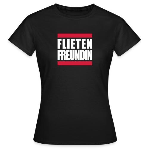 Flietenfreundin - Frauen T-Shirt