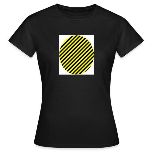 varninggulsvart - T-shirt dam