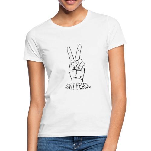 unit peace - Frauen T-Shirt
