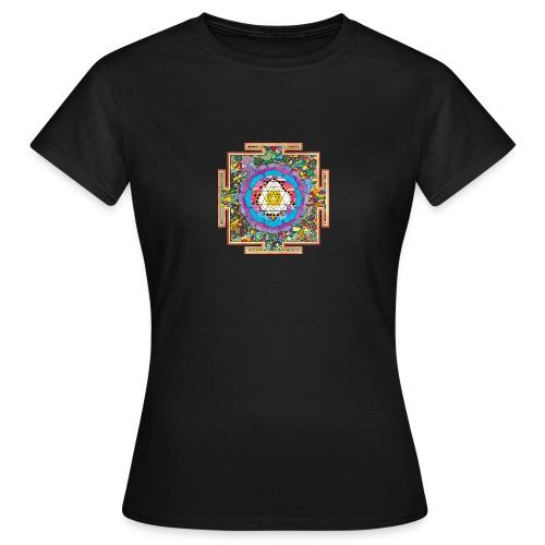 buddhist mandala - Women's T-Shirt