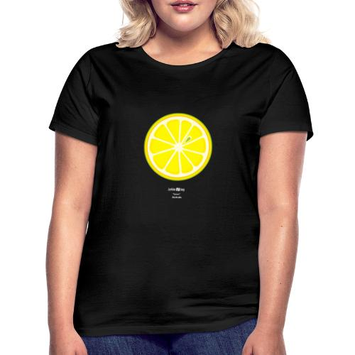 Lemon. Lesbian Slang: Australia. White. - Camiseta mujer