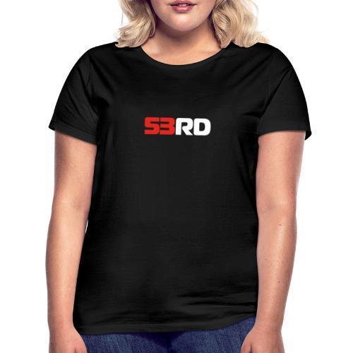53RD Logo lang (weiss-rot) - Frauen T-Shirt