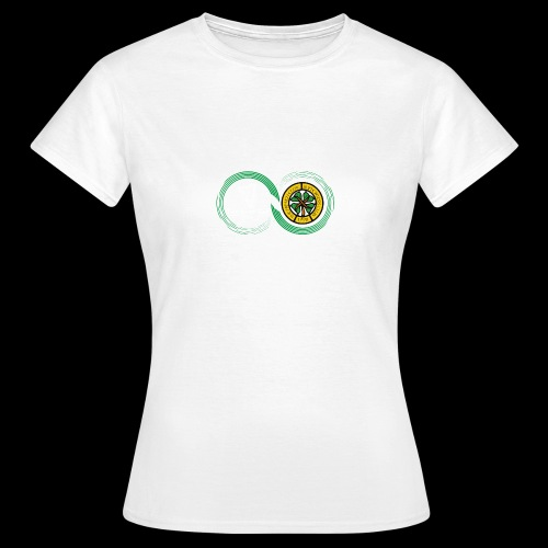 Harp and French CSC logo - T-shirt Femme