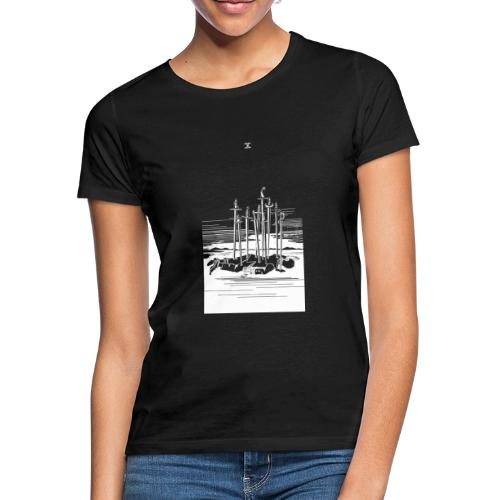 Revenge Capitalism (on black) - Women's T-Shirt