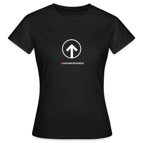 Conversionator mit Pfeil (weiß) - Frauen T-Shirt
