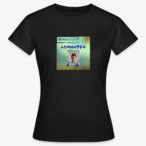Leman974 logo - T-shirt Femme