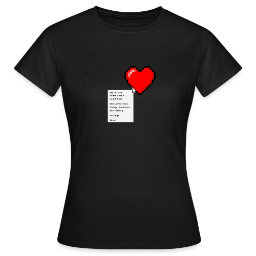 Options of the heart - Dame-T-shirt