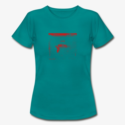 Hyena Red - T-shirt dam