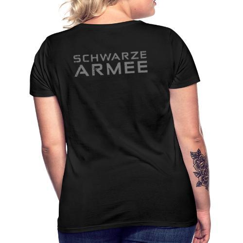 Grey Negant logo + SCHWARZE ARMEE! - Dame-T-shirt
