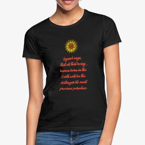 SOLRAC Legend Says Black - Camiseta mujer