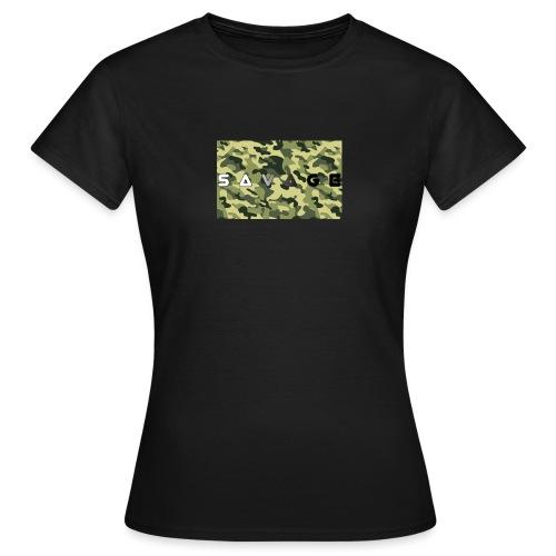savage camo premium - Frauen T-Shirt