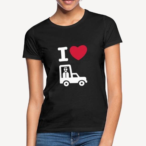 Papst im Auto - Women's T-Shirt